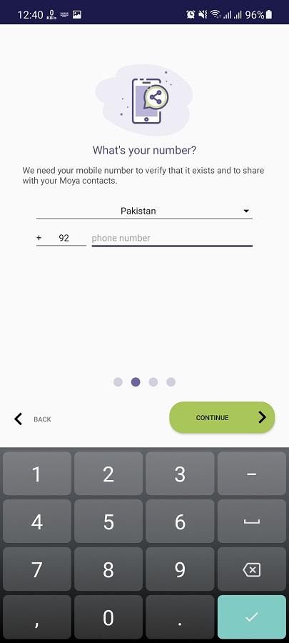 Screenshot of Moya App Sassa Apk
