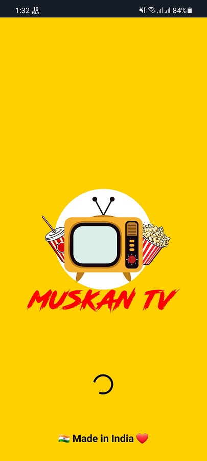 Screenshot of Muskan TV