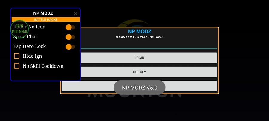Screenshot of NP Modz ML
