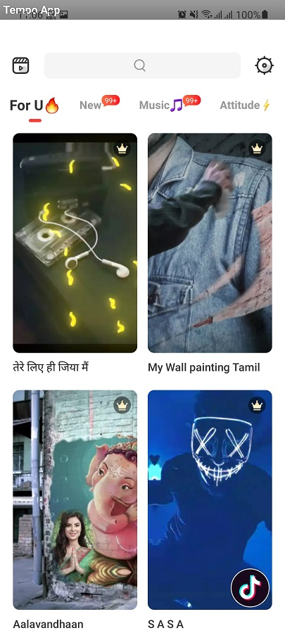 Screenshot of AI Composite Video Apk
