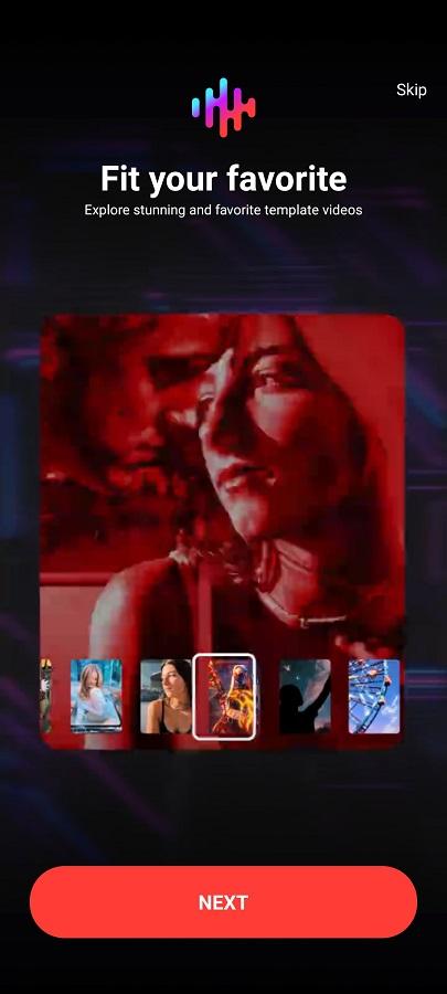 Screenshot of AI Composite Video