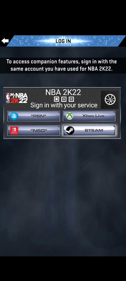Screenshot of MYNBA 2K22