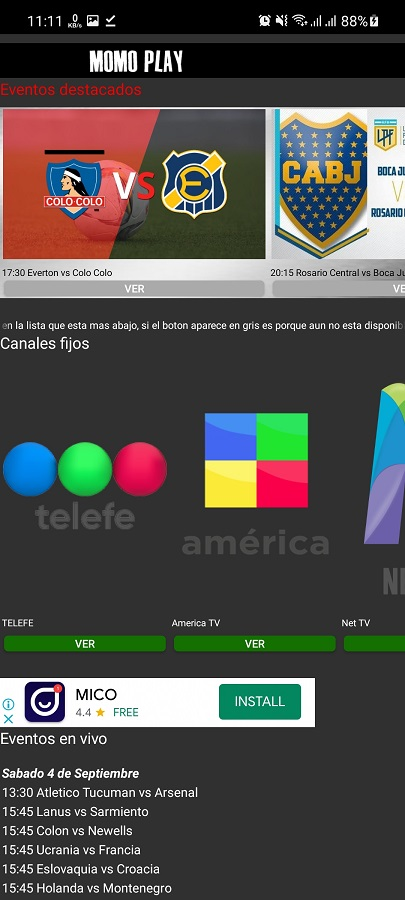 Screenshot of Momo Play Download