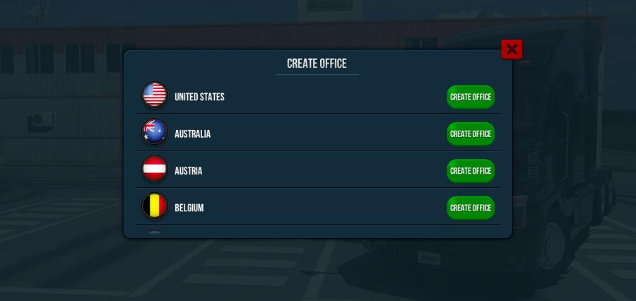 Screenshot of Truck Simulator Ultimate Game