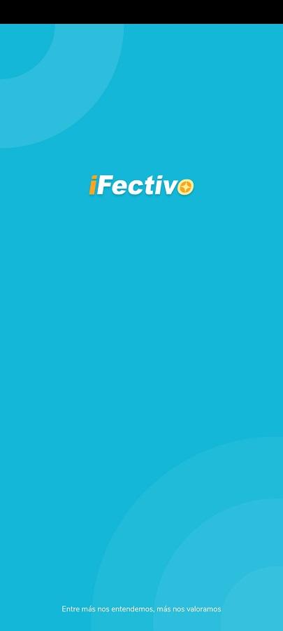 Screenshot of iFectivo App