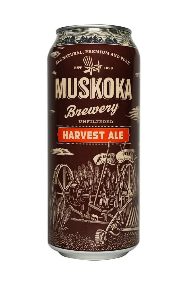 Craft Beer - Muskoka Harvest Ale. NOAH GANHÃO