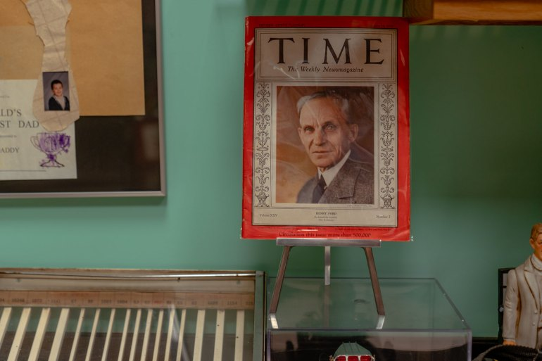 Henry Ford on cover of Time magazine from the Armando Terra collection