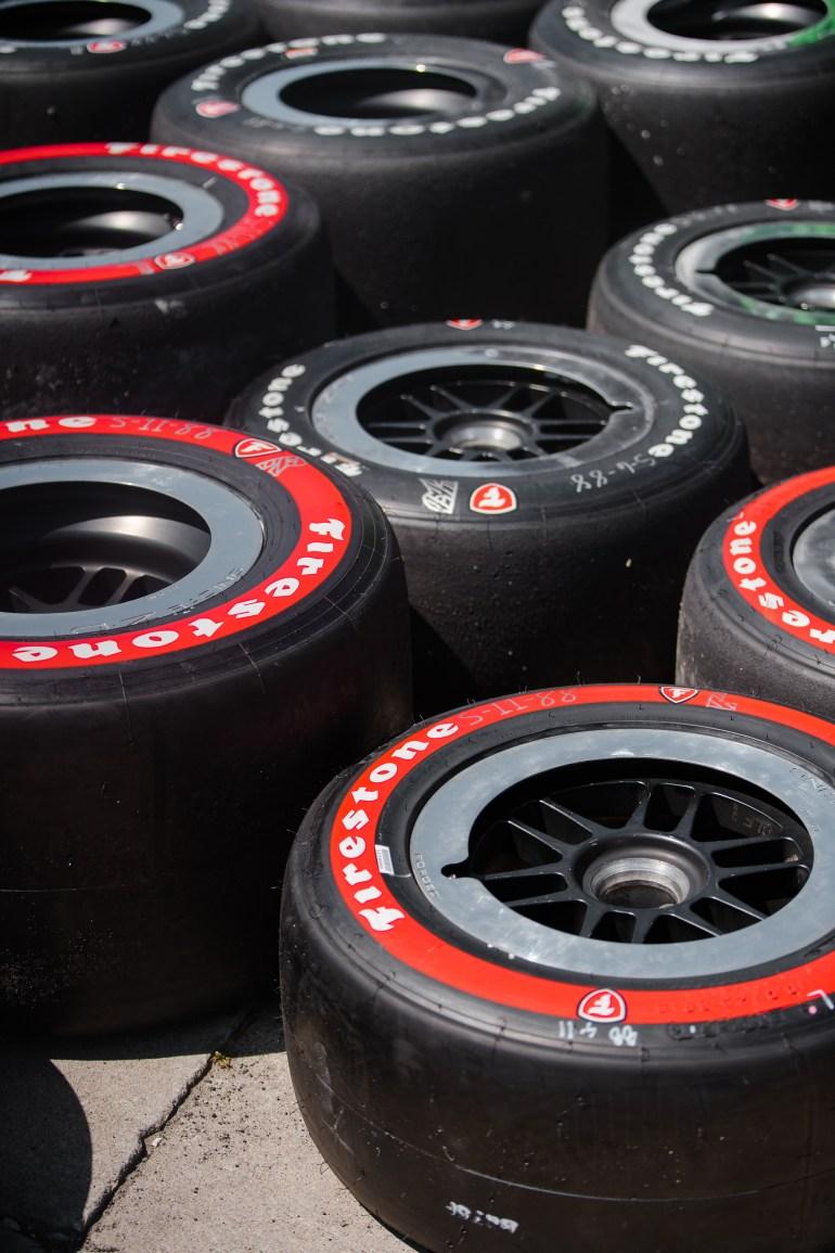 Honda Indy tires