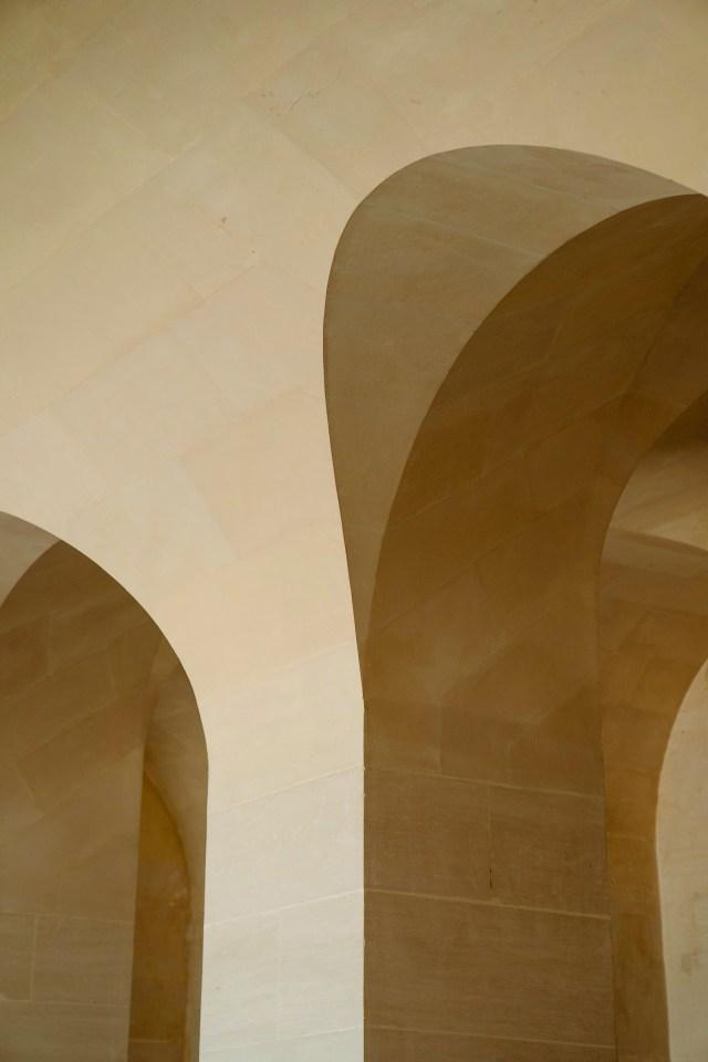 Tan coloured arch