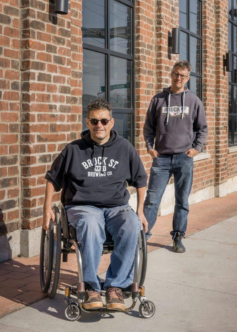Mark Woitzik & Chris Vanclief