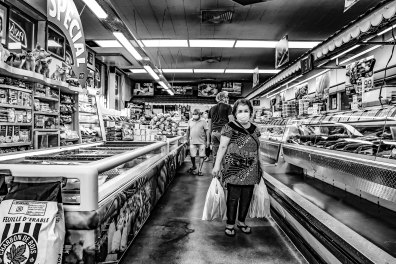 Luso–Life - Canada COVID Portrait - grocery shopping at Pavão in Toronto by George Pimentel