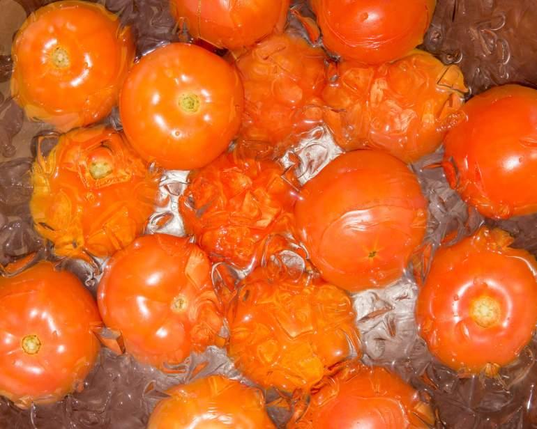 chopped tomatoes - Grāz Restobar