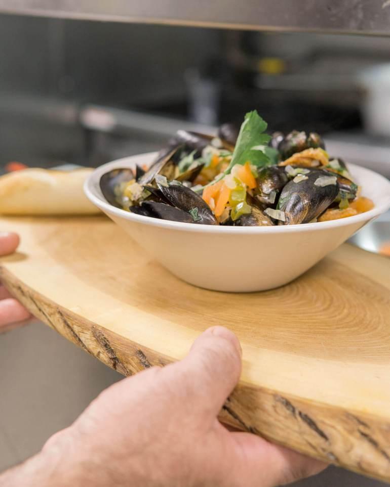 mussels - Grāz Restobar