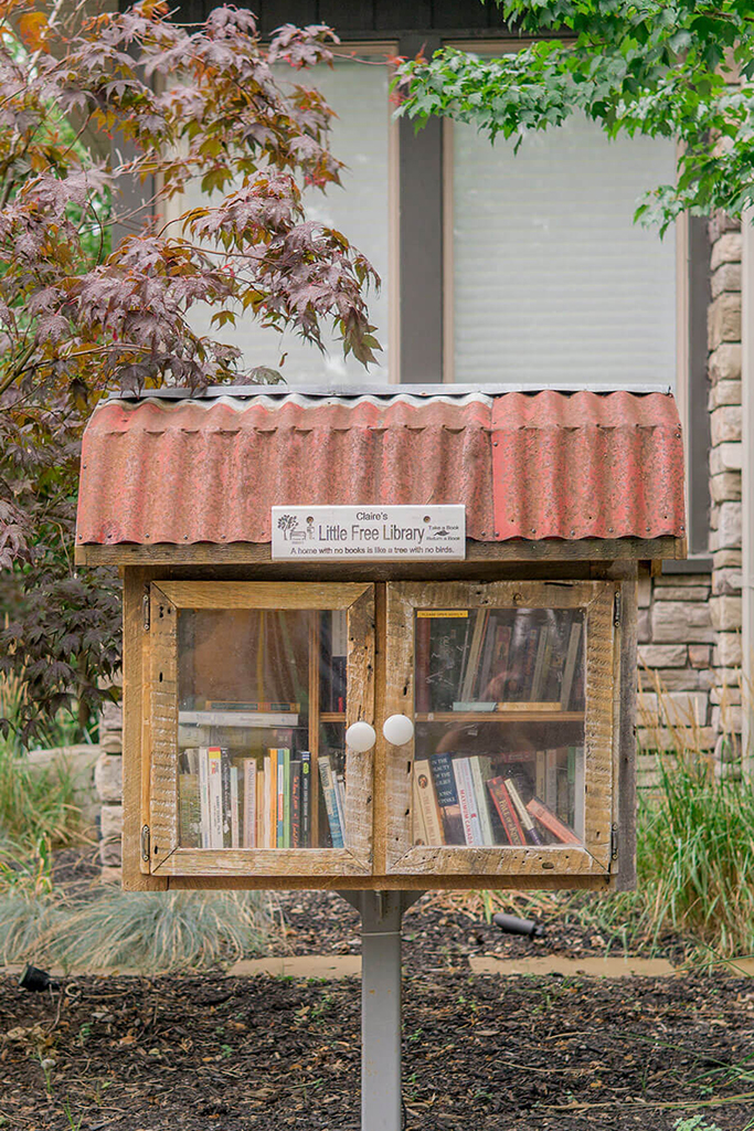 HIGH PARK NORTH LITTLE LIBRARY