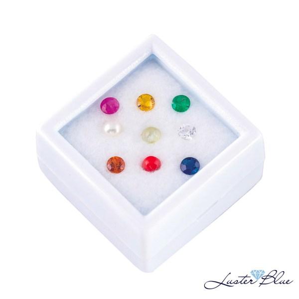 Navaratna Gemstones Box – 3mm
