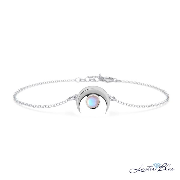 Moostone Crescent Bracelet – LBSB-478