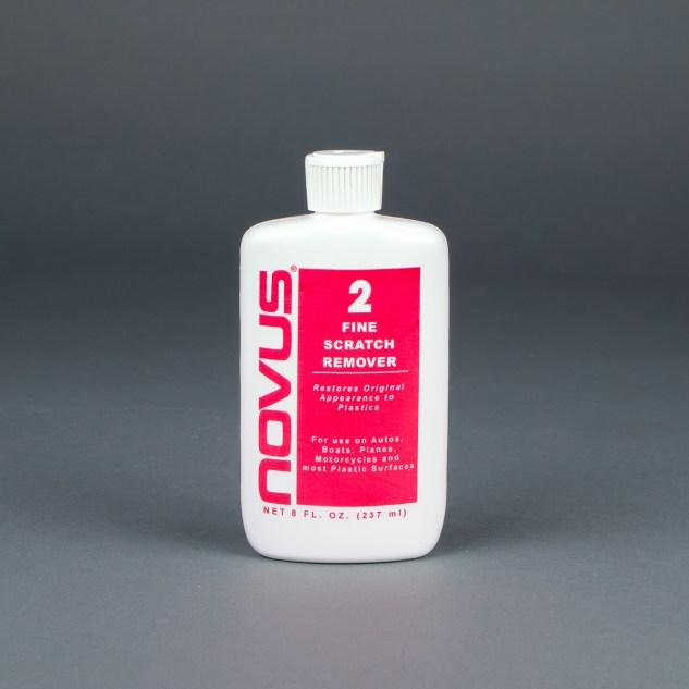 Novus Plastic Polish No. 2 Fine Scratch Remover 8oz