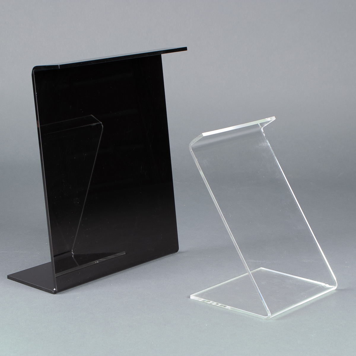 Literature holders manufactured by Lustercraft