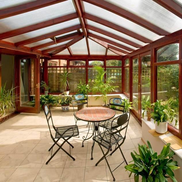 Twinwall Polycarbonate Greenhouse / Hurricane Panel