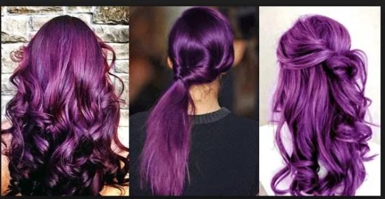 Purple Hair, Purple Hair in Canada (Skin Tones, Shades and Hair Extensions)