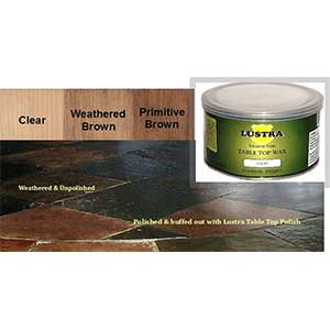 Lustra Table Top Wax By Lustersheen