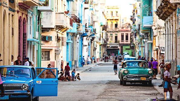 Street-in-cuba