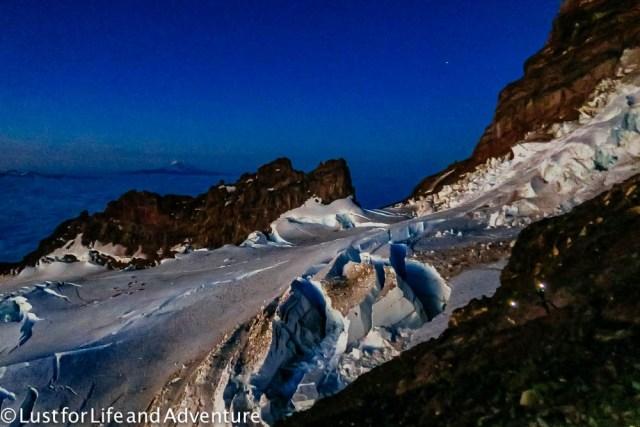 Ingraham Glacier sunrise