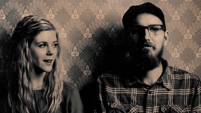 Elin-Louise Ahlberg och Gustav Bäcklin