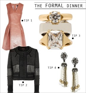 What to Wear to a Formal Holiday Dinner