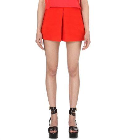 Maje Idole Crepe Shorts