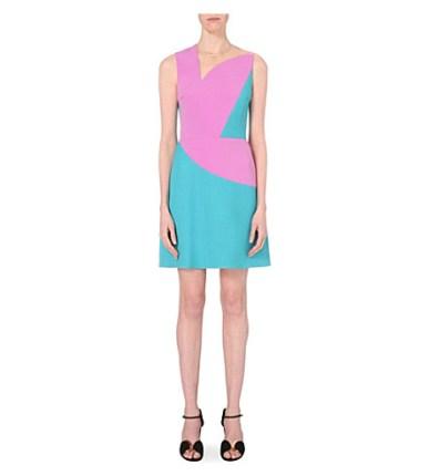 Roksanda Barham Mesh-insert Dress