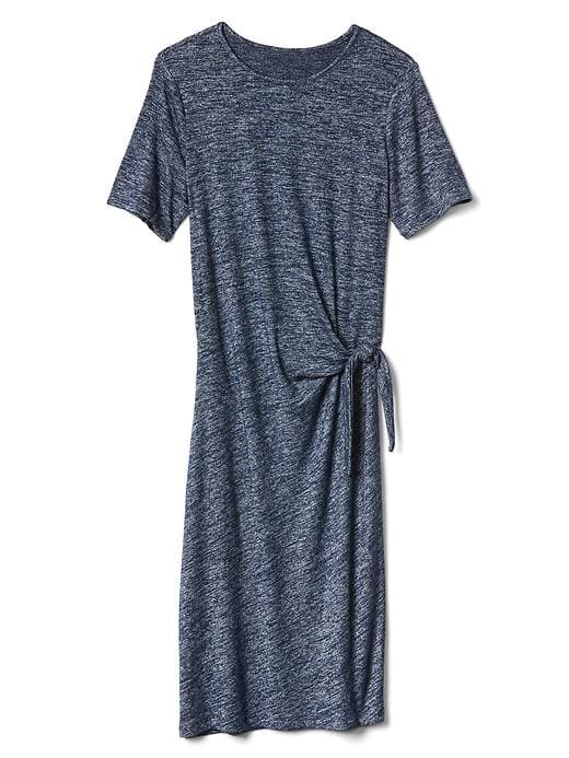Gap Softspun Knit Tie Dress