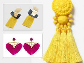 Hero Piece: Fringe Statement Earrings