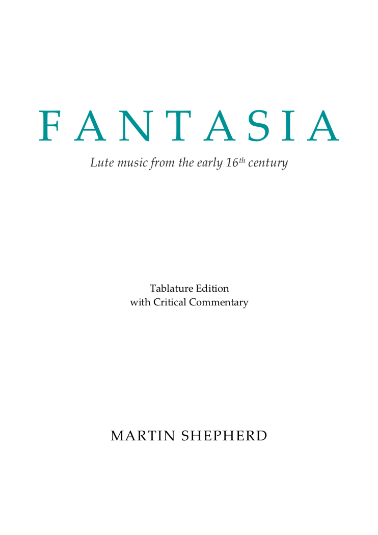 Fantasia Tab edition front cover