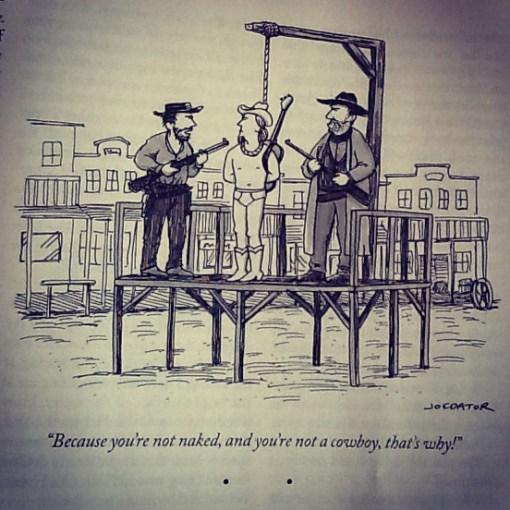 New Yorker Cowboy Cartoon
