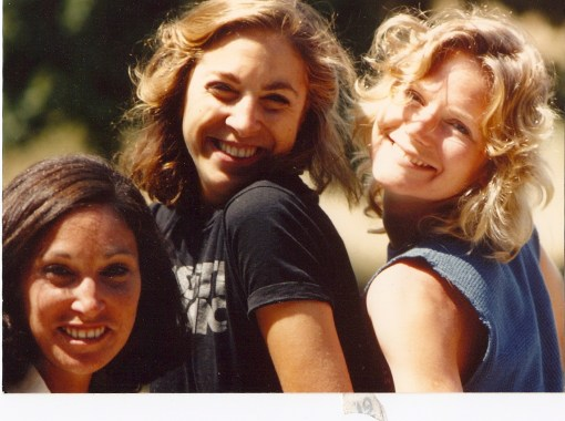 A bevy of pre-dating-app beauties. The one on the right (me, hah) has a role in this story