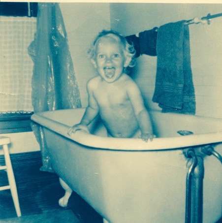 I'll end this Birthday Post with a shot of me in my Birthday Suit