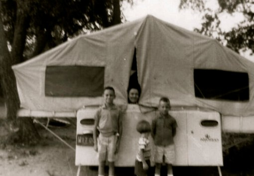 A third kind of camp: 'ing' We did a lot of this when I was growing up