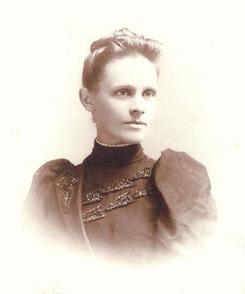 Bertha Biltz Walther young