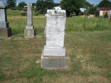 Agnes Boehme gravestone