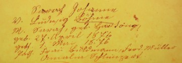 josephine-boehme-baptismal-record