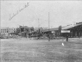 Soulard Market tornado damage