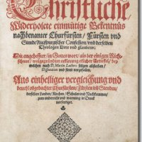 """""""Insofern"""" oder """"weil""""? Ein Beitrag zur hermeneutischen Begründung des Geltungsanspruchs der lutherischen Bekenntnisschriften."""