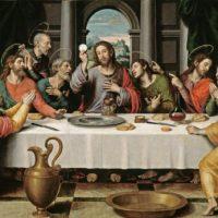 Essgewohnheiten - 8)  Die Abendmahlslehre in der Konkordienformel Teil 2.2: Zwei Arten des Essens des Fleisches Christi