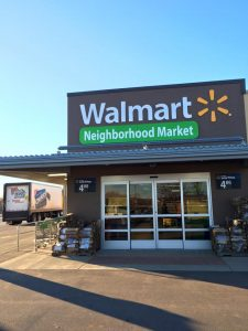 The new Luther Express Walmart will close January 29, 2016.