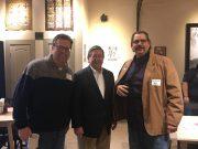 Scott Mitchell of Mitchell Talks, Edmondson and Jones Mayor Ray Poland