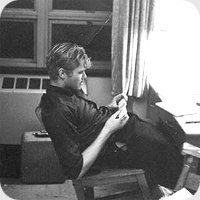 Carl Helrich as a Northwestern student