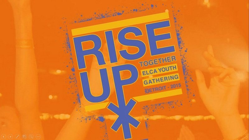 'Mythbusting' theme for LAFST stand at ELCA National Youth Gathering in Detroit