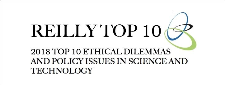 Reilly Top 10: Robot priest and genomic app among 2018's emerging ethical dilemmas