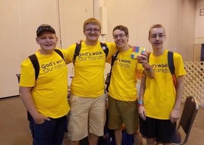 Science circulates at 2018 ELCA Youth Gathering in Houston